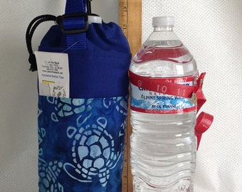 Insulated Tote for 1.5 liter (50.7 oz.) containers sea turtles