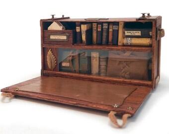 Miniature Victorian Tropical Explorer's Trunk