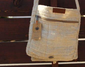 CORE HEMP  Messenger Bag Unisex Bag Handmade From 100% HEMP
