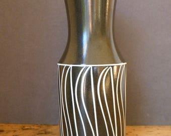 Mid Century Vase 'Tanglewood' by John Clappison Hornsea Pottery C.1960