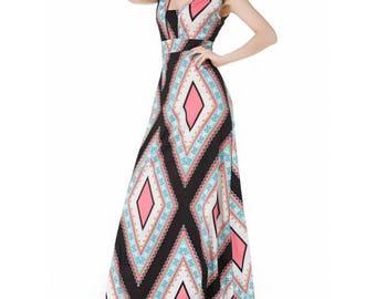 maxi dress, sleeveless maxi dress,summer dress