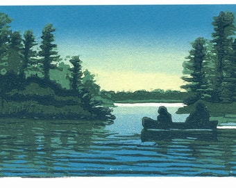 Paddle at Twilight