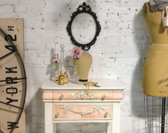 Painted Cottage Shabby Romantic Night Table