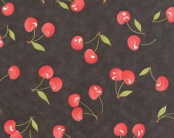 Farmhouse ~ 20251 18 ~ Black Cherries  ~ Fig Tree for Moda Fabrics ~ 100% Premium Cotton