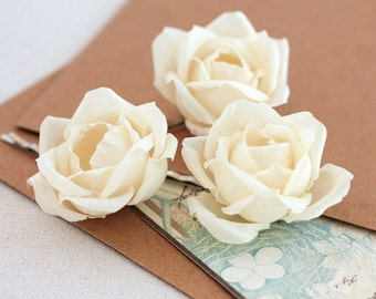 712_Floral hair piece, Hair accessories, Hair piece rose, Flower hair piece, Wedding bridal hair piece, Floral girl hair piece, Ivory roses.