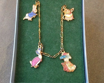Beatrix Potter Vintage Bracelet