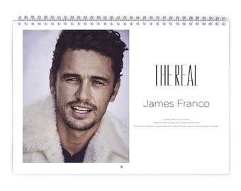 James Franco Vol.1 - 2018 Calendar