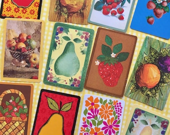 Sweet Fruit-Vintage Playing Cards