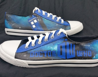 Doctor Who Tardis Blue Shoes