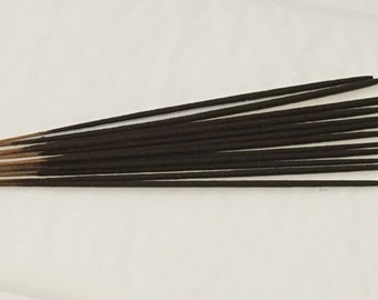 CARIBBEAN TEAKWOOD Incense Sticks- Incense- Hand dipped- punks- woodsy- woody- natural incense- masculine- fragrant- unique- unusual- wood