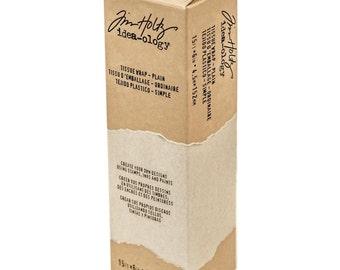 Tim Holtz Idea-Ology Plain Tissue Wrap - 15ft x 6in