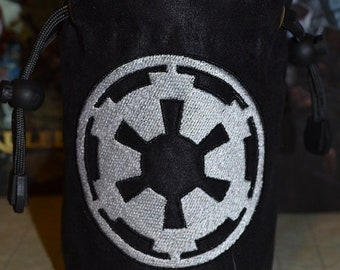 Star wars Dice Bag Empire Embroidered Suede