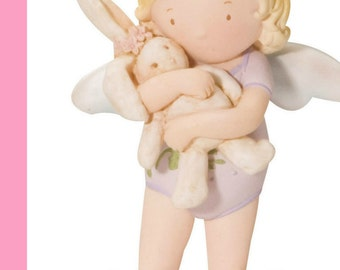 """Homco Cutie Patootie Figurine 'I love you so much"""" in Mint condition"""