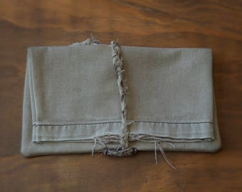 Recycled Denim Fold-over Pouch