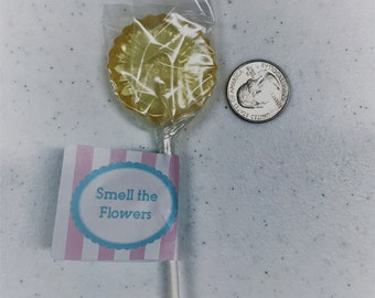 Smell the Flowers lollipop 12 count