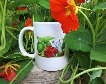 Strawberry Dragon Mug
