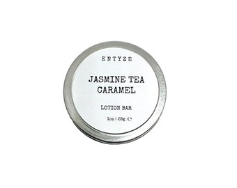Jasmine Lotion Lotion Bar Lotion Dry Skin Travel Lotion Solid Lotion Natural Lotion Organic Lotion Body Lotion Body Butter Stocking Stuffer