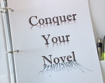 Writing Printables: Conquer Your Novel Planner.