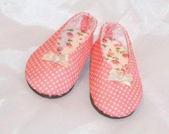 Doll Shoes - Polka. Minifee Aline BJD