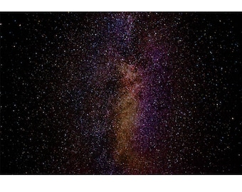 Fine Art Landscape Photography - So Tiny Yet So Big, Astro Photography, Stars, Galaxy, Space, Prints, Canvas