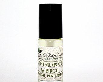 Sandalwood & Birch Perfume Oil