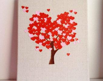 "Baby ""love tree"" canvas"