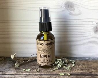 Marshmallow Body Oil- Herbal Oil