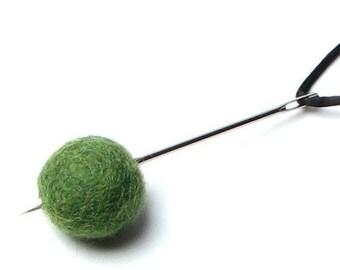 "Felt Ball Stringing 3 1/4"" Needle Handbehg Felts Fiber Crafts"