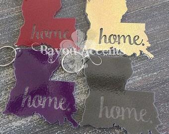 """3"""" Louisiana Home Acrylic Keychain"""