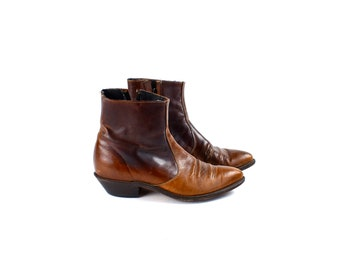 Western Style Beatle Ankle Boots by Code West