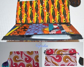 African Print Wallet, Wallets and money clips, Ankara Wallets, Kitenge Wallet, Wallets, Ankara Purse,African Print Purse,Floral print wallet