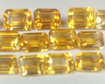 7x5, 8x6, or 9x7 natural Citrine