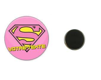 Your text - 25 mm Magnet Super Magnet