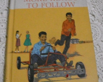 More Roads to Follow The New  Basic Reader 1965 Hardcover