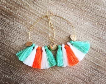 Drops earrings NIKITA colorful