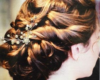Athen Hochzeit Haarkamm, Hochzeit Haarnadel, Pearl und Crystal Haare kämmen, Hochzeit Haarschmuck, Kopfschmuck Hochzeit, Braut Haarnadel