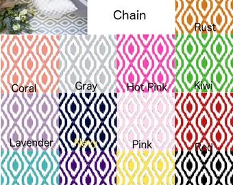 Fabric by the yard Kaylene Chain home decor fabric
