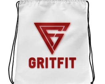 Grit Drawstring bag