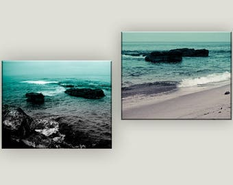 Set of 2 Prints -- Tropical Wall Art -- Set of 2 Beach Photography -- Masculine Wall Art -- Man Cave Art -- Beach Decor -- Coastal Prints