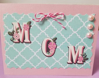 Mom Simple Greeting Card