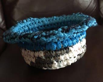 Crochet Plarn Basket