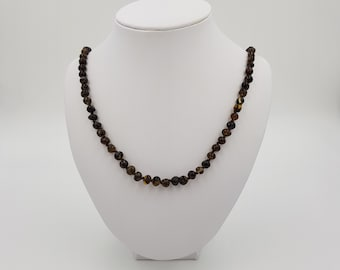 Earth Amber Necklace for Children, Teens & Adults