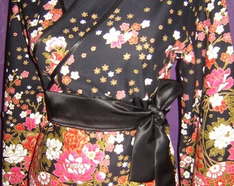Sale: Japanese style tunic - perfect for Christmas or New Year's Eve