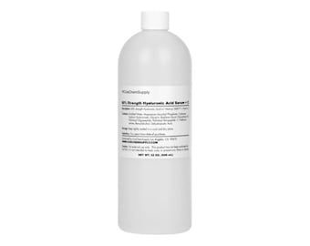 Bulk 60% Hyaluronic Acid Matrixyl 3000 Vitamin C Serum 5 Gallon