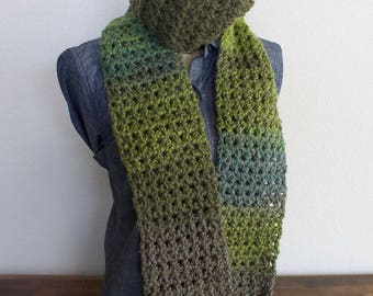 Ombre Extra Long Scarf