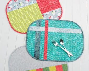 Terry's Table Placemats Pattern by Atkinson Designs