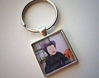 CUSTOM Photo keychain or pendant