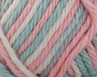 Cotton Crochet Yarn - Bernat 100% cotton / 4 ply worsted weight