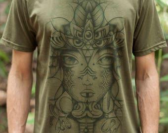 Male Fair Wear and Organic T-Shirt - Serpent Tone