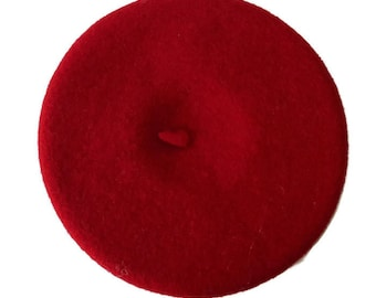 True Mini beret for doll or to customize to make it a feminine fashion accessory
